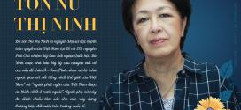 Bà Tôn Nữ Thị Ninh: Muốn Việt Nam hùng cường, không quan trọng bạn là thợ đóng giày hay nhà khoa học, quan trọng là phải lắng nghe