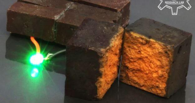 Các nhà khoa học đã có thể biến gạch thành pin